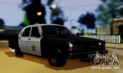 GAS 3102 Volga - Sheriff para GTA San Andreas