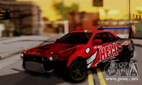 Nissan Skyline R34 HELL DT para GTA San Andreas