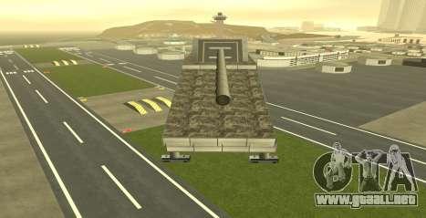 Landkreuzer P. 1500 Monster for GTA San Andreas para GTA San Andreas tercera pantalla