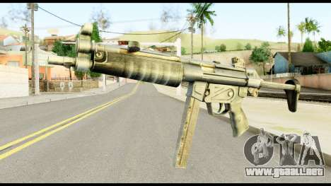 MP5 con Descompone a Tope para GTA San Andreas