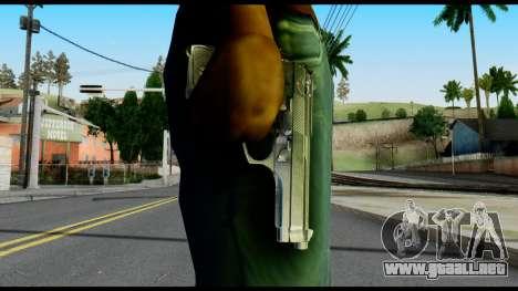 Beretta from Max Payne para GTA San Andreas tercera pantalla