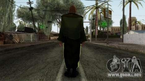 GTA 4 Skin 85 para GTA San Andreas segunda pantalla