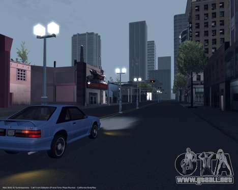 ENBSeries débiles y medianas PC para GTA San Andreas sexta pantalla