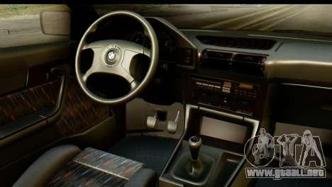 BMW M5 E34 Alpina para la visión correcta GTA San Andreas