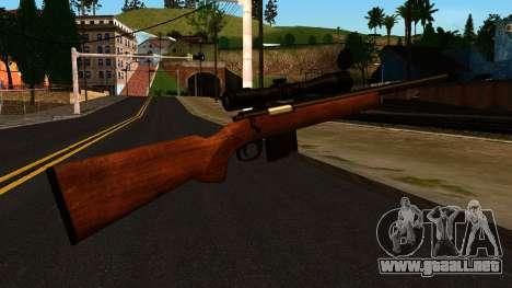 Rifle from GTA 4 para GTA San Andreas segunda pantalla