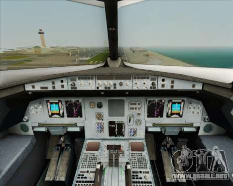 Airbus A320-200 Air India para GTA San Andreas interior
