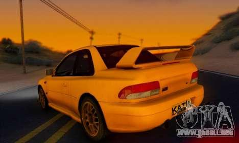 Subaru Impreza 22B STI (KATIL) para GTA San Andreas left