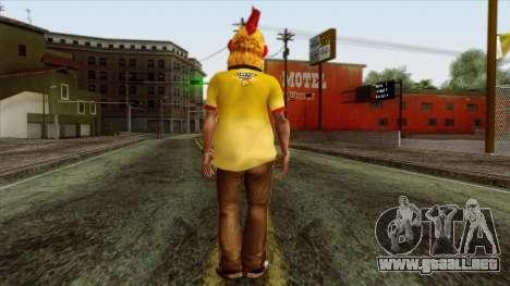 GTA 4 Skin 86 para GTA San Andreas segunda pantalla