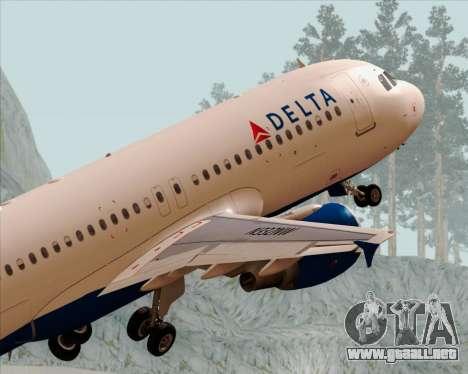 Airbus  A320-200 Delta Airlines para el motor de GTA San Andreas