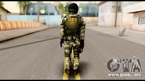 Support Troop from Battlefield 4 v1 para GTA San Andreas segunda pantalla