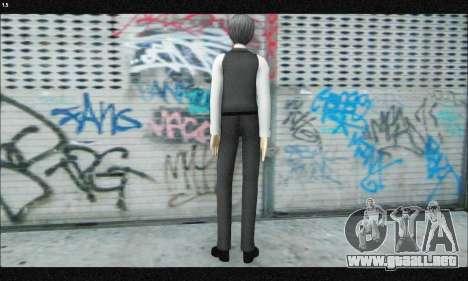 Kaneki Ken (Tokyo Ghoul) para GTA San Andreas tercera pantalla