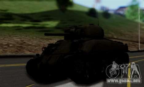 M4 Sherman para GTA San Andreas left