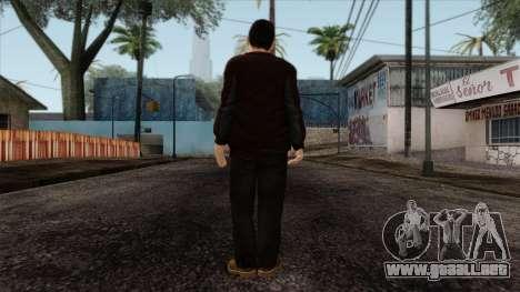 GTA 4 Skin 63 para GTA San Andreas segunda pantalla