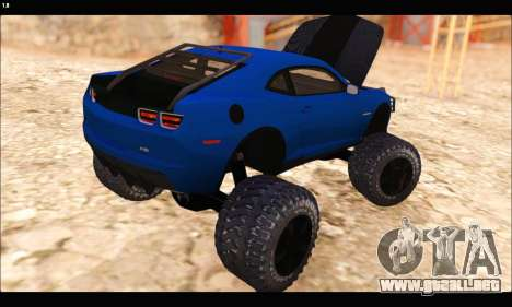 Chevrolet Camaro SUV Concept para vista lateral GTA San Andreas
