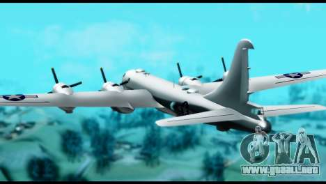 B-29 Superfortress para GTA San Andreas left