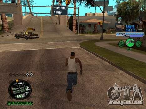 С-Hud Tawer-Gueto v1.6 el Clásico para GTA San Andreas sexta pantalla