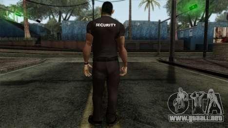 GTA 4 Skin 18 para GTA San Andreas segunda pantalla