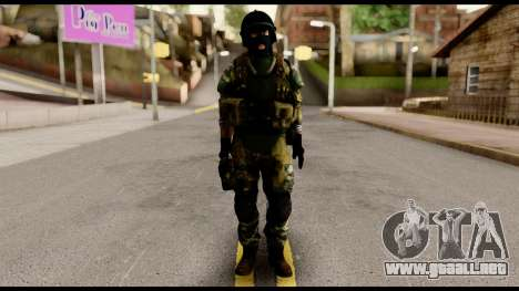 Support Troop from Battlefield 4 v1 para GTA San Andreas