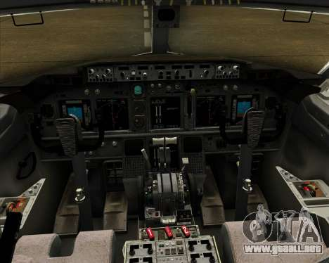 Boeing 737-800 Air Philippines para GTA San Andreas interior