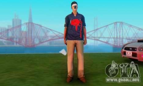 Zombie Sindacco para GTA San Andreas segunda pantalla