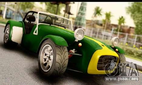 Caterham Seven 1995 para GTA San Andreas