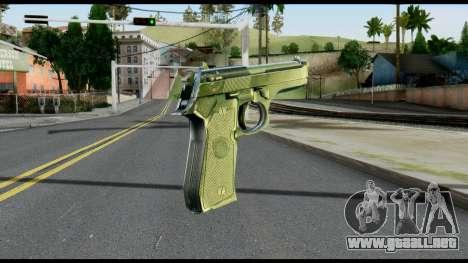 Beretta from Max Payne para GTA San Andreas segunda pantalla
