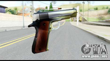 Colt 1911A1 from Metal Gear Solid para GTA San Andreas segunda pantalla