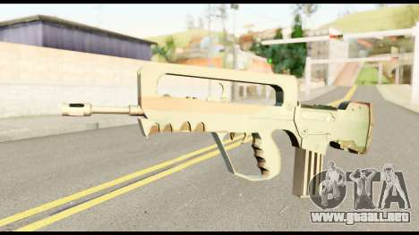 Famas from Metal Gear Solid para GTA San Andreas