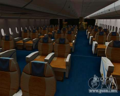 Airbus A380-800 Philippine Airlines para las ruedas de GTA San Andreas