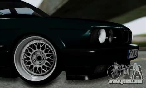 BMW 525 E34 Rims para la visión correcta GTA San Andreas