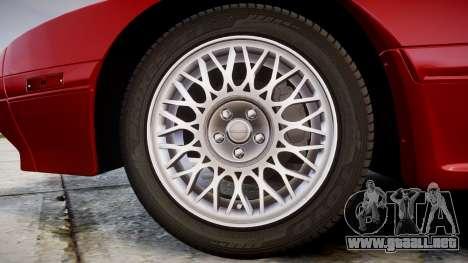 Mazda RX-7 1990 FC3s [EPM] para GTA 4 vista hacia atrás