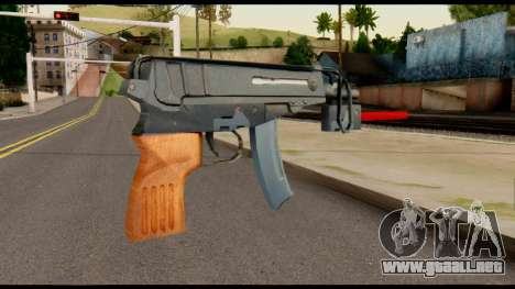 Scorpion from Metal Gear Solid para GTA San Andreas