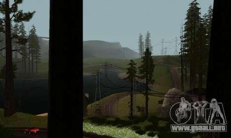 ENBSeries v6 By phpa para GTA San Andreas quinta pantalla