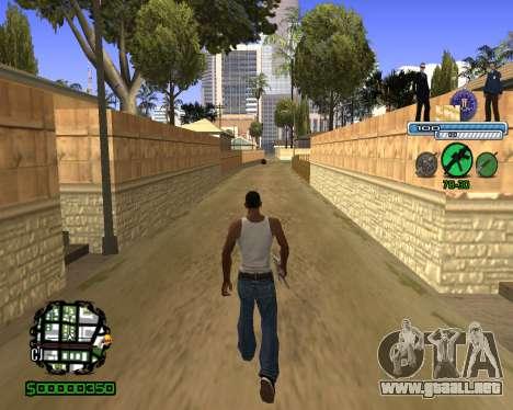 C-HUD FBI para GTA San Andreas