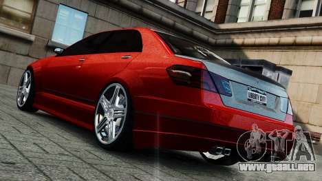 Schafter Gen. 2 Grey Series para GTA 4 Vista posterior izquierda