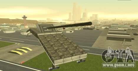 Landkreuzer P. 1500 Monster for GTA San Andreas para GTA San Andreas segunda pantalla