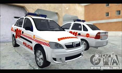 Chevrolet Corsa Premium Policia de Salta para GTA San Andreas