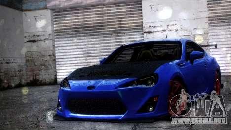 Subaru BRZ Drift Built para GTA San Andreas