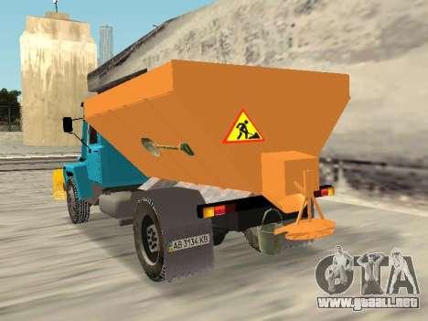 GAZ 3309 Nieve para GTA San Andreas