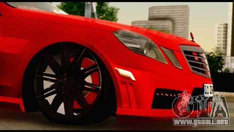 Mercedes-Benz E250 para visión interna GTA San Andreas