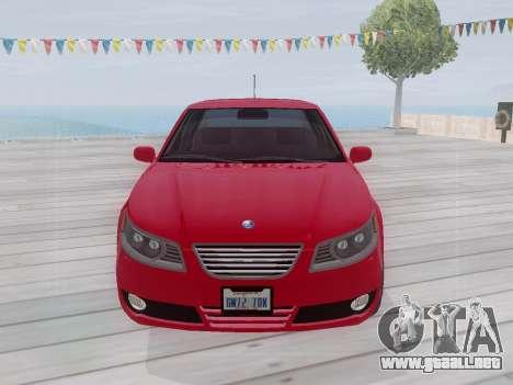Saab 95 para GTA San Andreas left