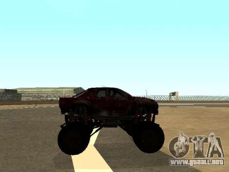 SuperMotoXL Zen MaXXimus CD 17.1 XL-HT para GTA San Andreas vista hacia atrás