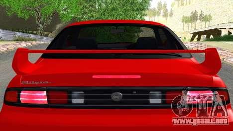 Nissan Silvia S14 Ks para vista lateral GTA San Andreas