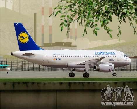Airbus A319-100 Lufthansa para el motor de GTA San Andreas