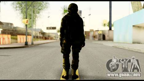 Attack Plane from Battlefield 4 para GTA San Andreas segunda pantalla
