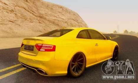 Audi RS5 (RC) para GTA San Andreas left