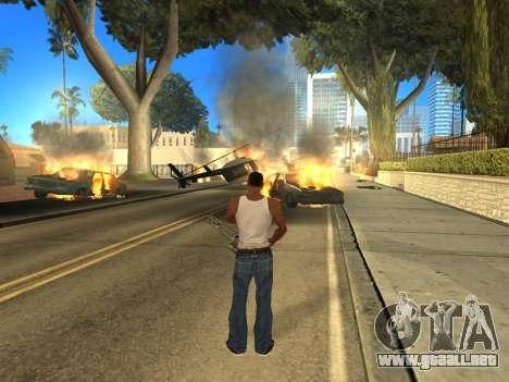 Overdose 1.6 New para GTA San Andreas tercera pantalla