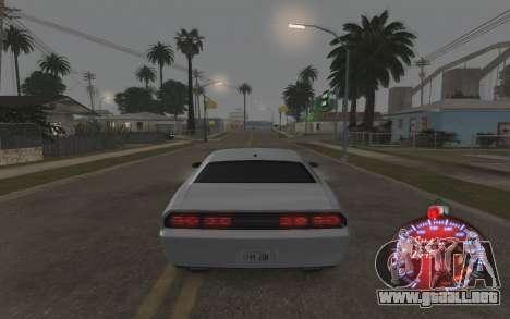 Navidad velocímetro 2015 para GTA San Andreas quinta pantalla