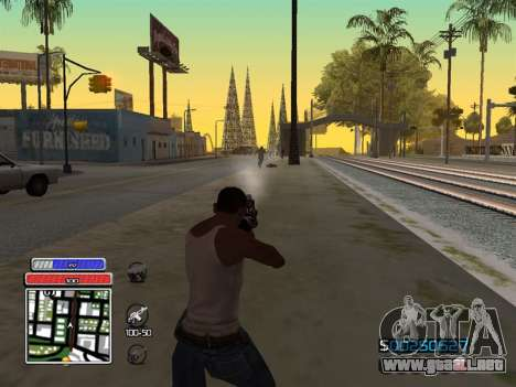 C-HUD Unique v4.1 para GTA San Andreas