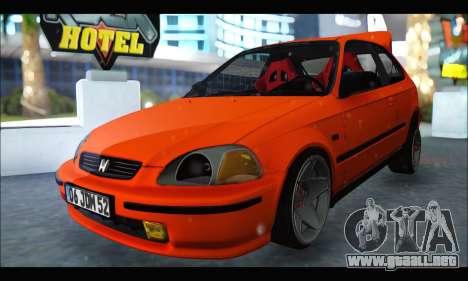 Honda Civic HB (JDM Family) para GTA San Andreas